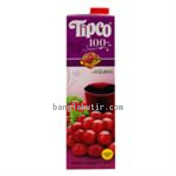 Tipco Red Grape Juice 1Ltr