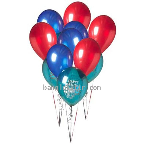 24 pcs Multicolor Balloon