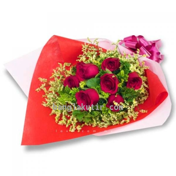 7 Romantic Red Rose