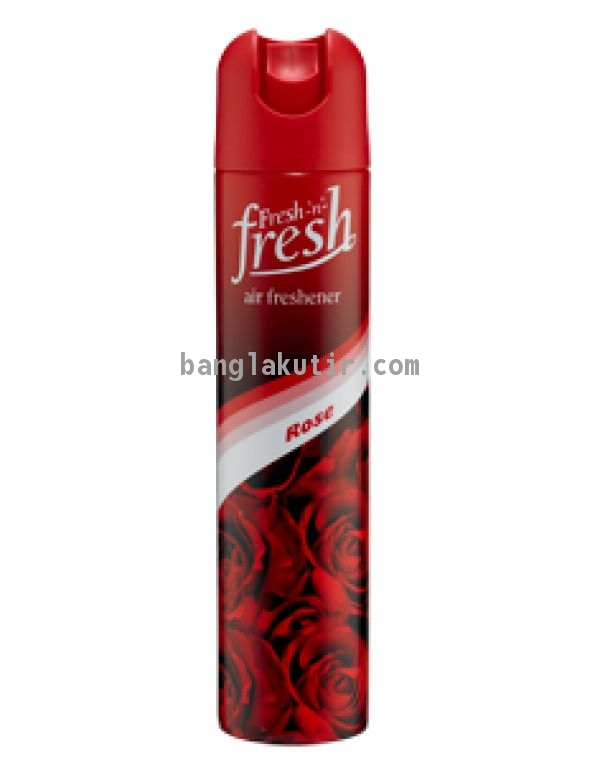 Fresh n fresh air freshener rose