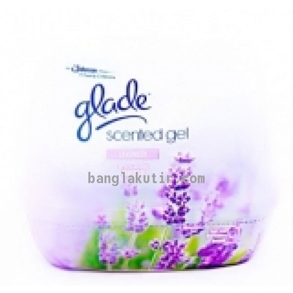 GLADE SCENTED GEL LEMON 200GM